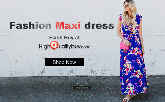 Fashion Maxi Dress Flash Sale