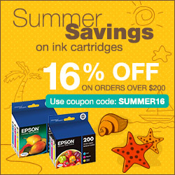 Summer Sales on genuine inkjet cartridges