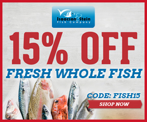 15% OFF Whole Fresh Fish
