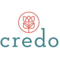Credo Logo on white background