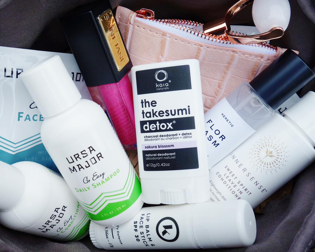 Travel Size Clean Beauty at Credo