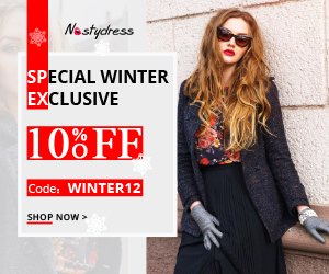 "Stay warm and stylish with Nastydress! Enjoy free shipping and 10% OFF with coupon ""WINTER12"". Shop now!"