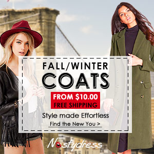 Fall / Winter Coats: From $10 and Free Shipping