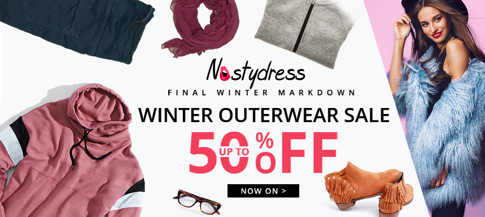 Baby it's cold outside, stay warm with nastydress! Enjoy free shipping and up to 50% OFF! Shop now!