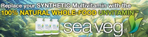 Sea Veg Whole Food Seaweed Supplement with Fucoidan