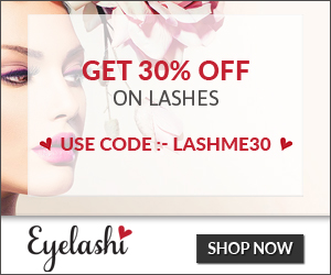 Get 30% Off On Lashes