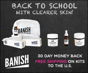banish products free shipping on kits for us orders