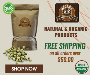 Organic Merchants Free Shipping over $50