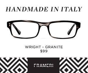 Handmade in Italy $99 frames