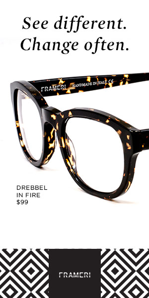 Frameri Interchangeable Eyeglasses Lenses and Frames Seen ...