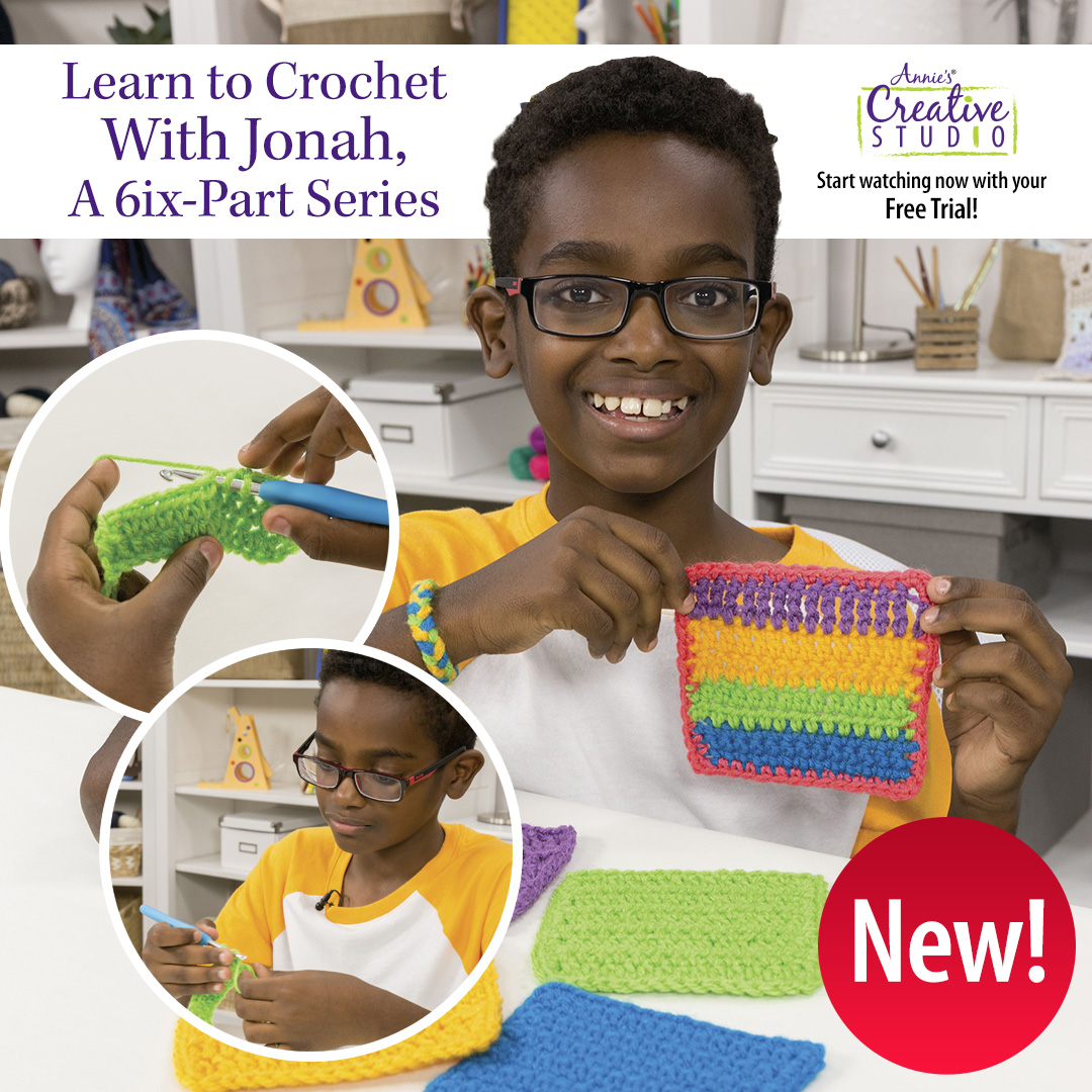 Annie's - Learn To Crochet With Jonah