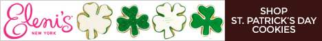 Shop St. Patrick's Day cookies at Eleni's New York!