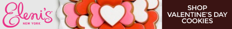 Shop Valentine's Day cookies at Eleni's New York