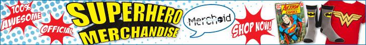 Official Superhero Merchandise