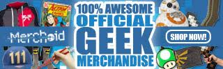 Merchoid - 100% Awesome official Geek Merchandise