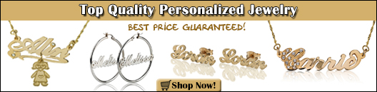 Personalized Jewelry Coupon