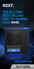 NZXT H440 Black and Blue mid-tower PC gaming case special edition