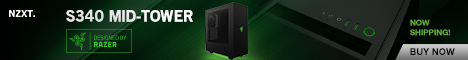 NZXT S340 Designed by Razer mid-tower PC gaming case