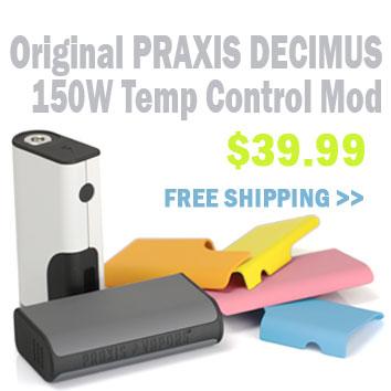 Praxis Decimus 150W Temp Control - 3FVAPE