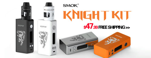 AUTHENTIC SMOKTECH KOOPOR KNIGHT KIT MINI2 TC VW MOD + HELMET ATOMIZER - 3FVAPE