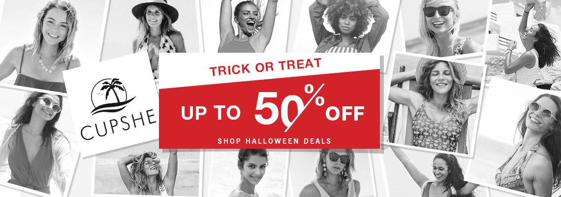 Trick Or Treat! Up to 50% off?Shop Halloween Deals?