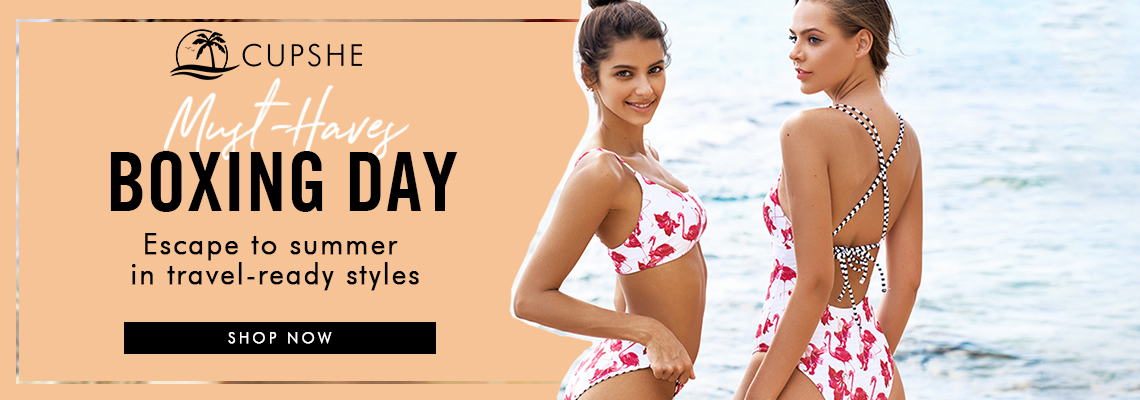 Boxing Day! Escape to summer in travel-ready styles! Shop Now!