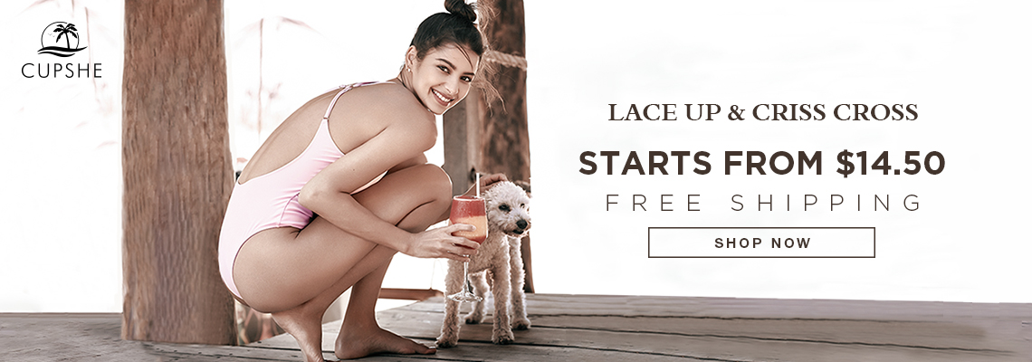 Lace-Up and Crisscross?Starts from $14.50! Free Shipping! Shop Now!