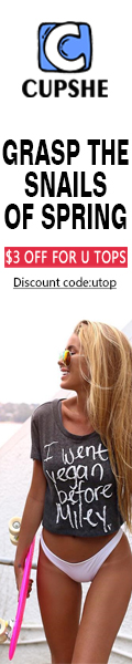 $3 off for U Tops!Discount code:utop!