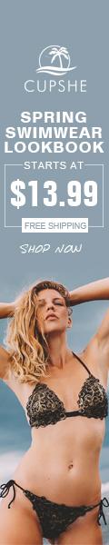 Spring Swimwear Lookbook! Starts At $13.99! Free Shipping! Shop Now!