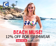 Beach Muse!12% Off for Swimwear!Code:CHT!Free Shipping Worldwide!