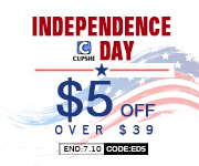 Independence Day!$5 OFF over $39 orders!Code:ED5!Free Shipping Worldwide!