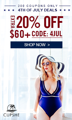 4th of July Deals! Extra 20% Off $60+ Code: 4JUL! 200 Coupons Only! Shop Now!