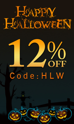 Happy Halloween! 12% Off Code:HLW! Free Shipping!