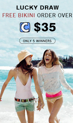 Cupshe Specific Affiliate Campaign! Lucky Draw! Free Bikini Order Over $35! Only 5 Winners! Lottery Date:9.29!