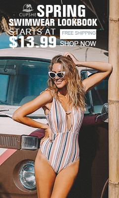 Lookbook Spring Swimwear! Começa em $ 13.99! Frete grátis! Compre agora!