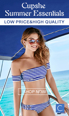 Cupshe Summer Essentials!Low Price&High Quality!Free Shipping!