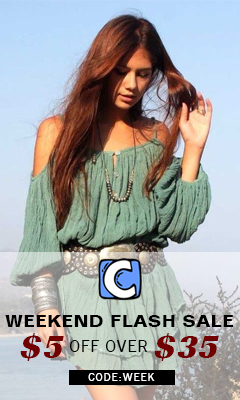 Weekend Flash Sale!$5 Off Over $35 Code:Week! Free Shipping!