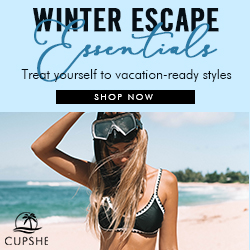 Winter Escape Essentials! Treat yourself to vacation-ready styles! Shop Now!
