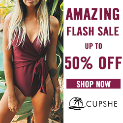 Amazing Flash Sale! Up To 50% Off Swimwear. Shop Now!