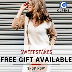 Sweepstakes! Free Gift Available! Various free gifts for your choice!