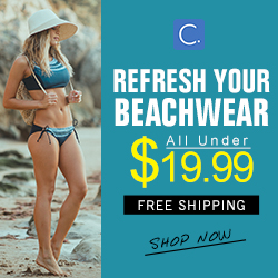 Refresh Your Beachwear! All Under $19.99! Shop Now!