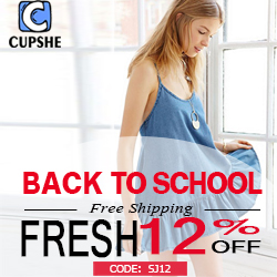 Back to School! Fresh 12% Off Code:SJ12!Free Shipping Worldwide!