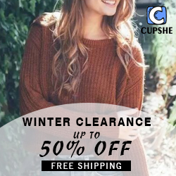Cupshe Coupon Code - Winter Clearance Up to 50% Off!