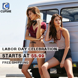 Labor Day Celebration!Starts at $5.99!Free Shipping!