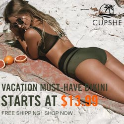 Vacation Must-Have Bikini! Starts at $13.99! Free Shipping! Shop Now!