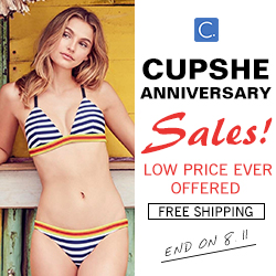 Cupshe Anniversary Sales!Low Price Ever Offered!Free Shipping!