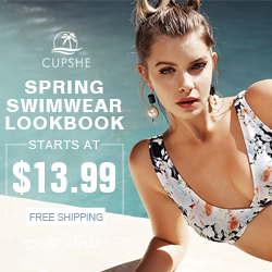 Spring Swimwear Lookbook! Starts At $13.99! Free Shipping! Shop Now!
