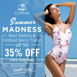 Summer Madness!Best Sellers & Hottest Bikini Trend! Up to 35% Off! Free Shipping! Shop Now!