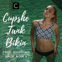 Cupshe Tank Bikin! Free Shipping! Shop Now!