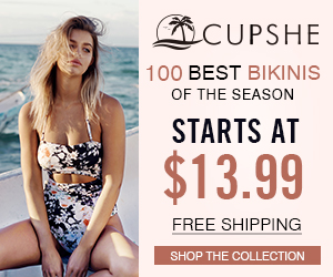 100 Best Bikinis of the Season! Starts At $13.99! Free Shipping! Shop the Collection!
